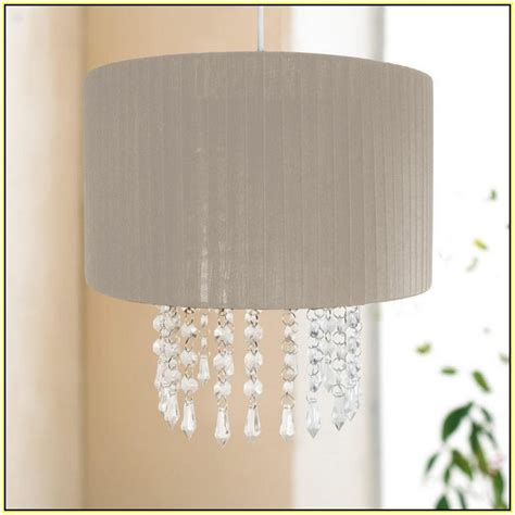 chandelier with shade and crystals chandelier l shades home design ideas