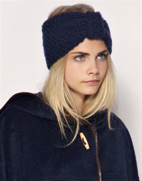 knit a headband knit headbands winter fashion accessories