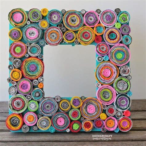 rolled magazine paper crafts 25 best ideas about recycled paper crafts on