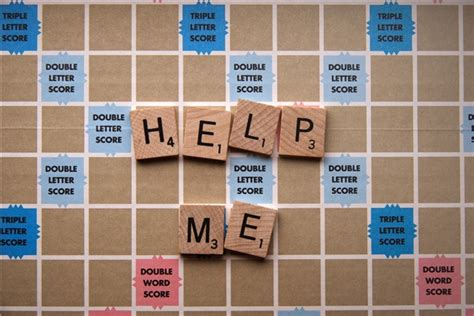 scrabble hwlp the anxiety of asking for help in my mental mind