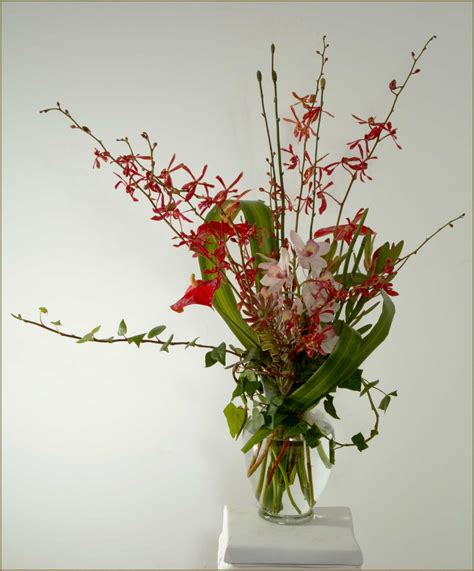 flower arrangements tropical orchid flower arrangements in marin county ca