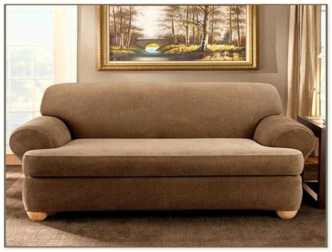 sofa t cushion slipcover 3 t cushion sofa slipcover home design ideas and