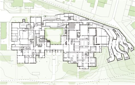 architecture design plans lille modern museum manuelle gautrand architecture archdaily