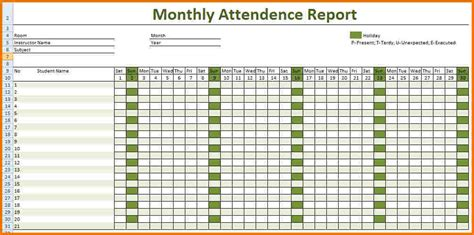 attendance record template authorization letter pdf