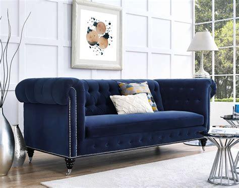 blue sofa in living room 10 velvet sofas to put in your living room immediately