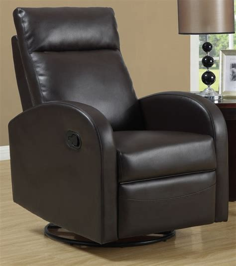 brown living room chairs swivel rocker recliner brown contemporary living