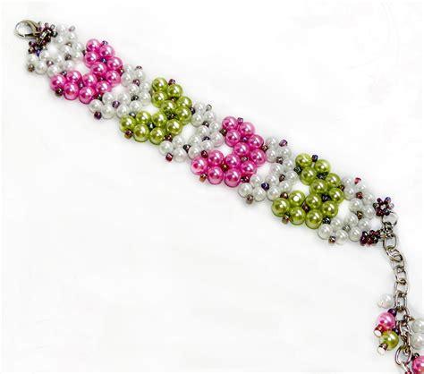 beaded bracelets patterns 1000 images about braceletes on bracelet