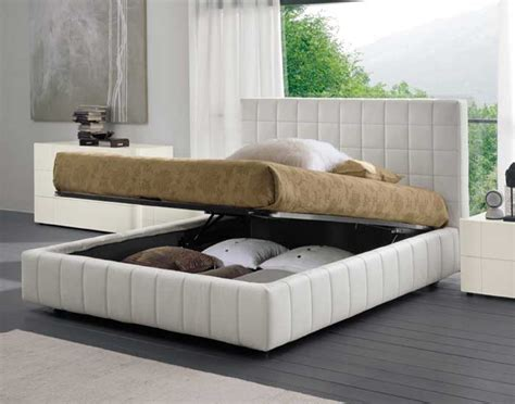 bed with storage white bed with storage scacco by dall agnese digsdigs