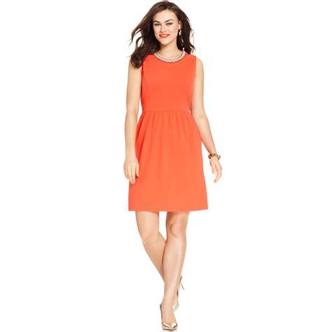 plus size beaded dress plus size sleeveless beaded dress in