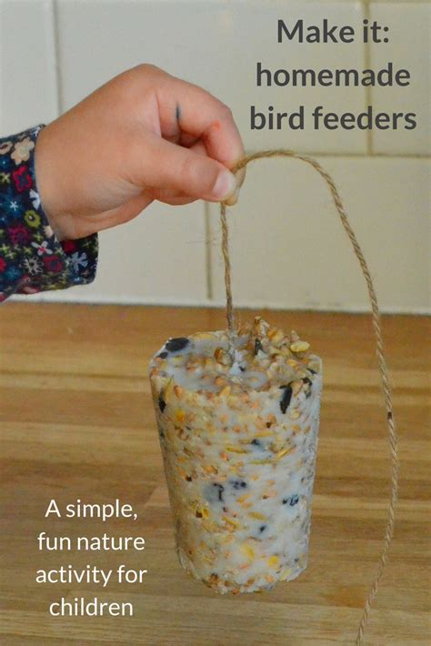 for kindergarteners to make bird feeders growing family