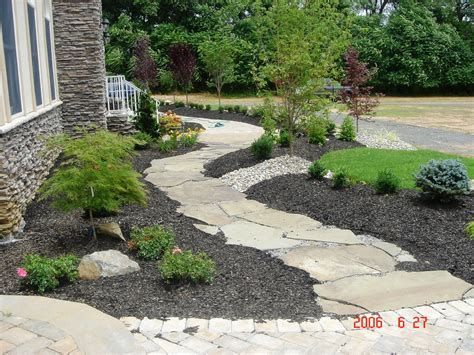 slate landscaping slate walkway 171 a cut above landscaping new