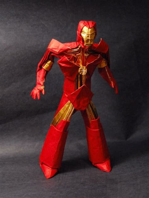 Iron Origami Figurine It S Brutally Awesome Bit Rebels