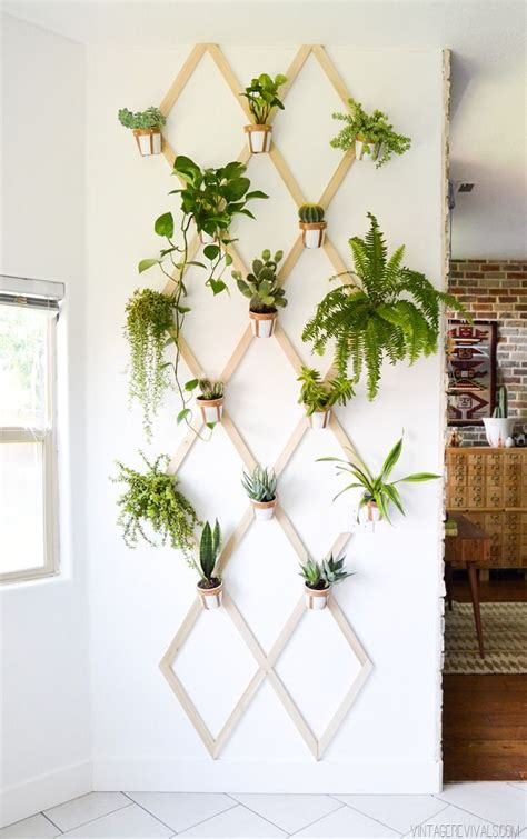 planter walls in gardens 16 diy wall planters teach you how to greenify your home