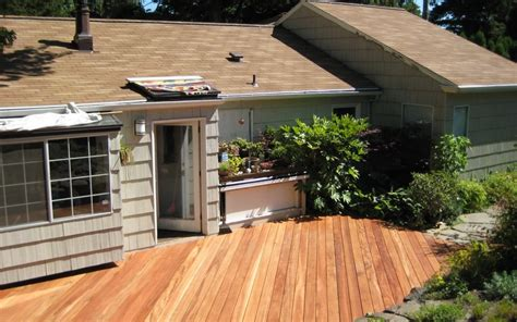 backyard wooden patio designs landscaping gardening ideas
