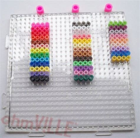 perler bead pegboard free shipping 3mm hama square clear linkable