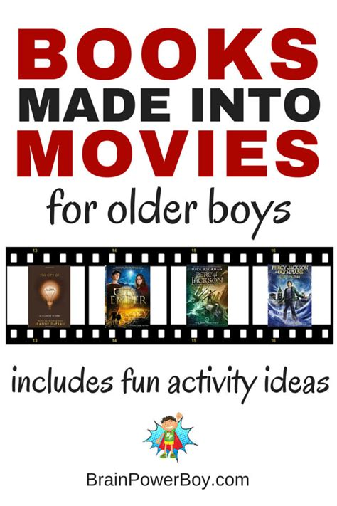 picture books made into books make into for boys plus activities