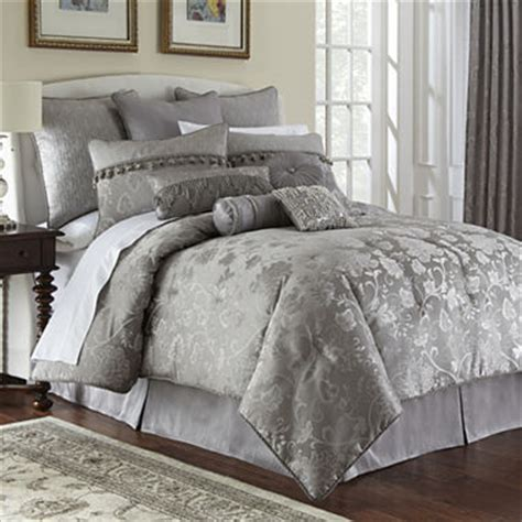 discontinued jcpenney comforter sets marquis by waterford 174 platinum 4 pc comforter