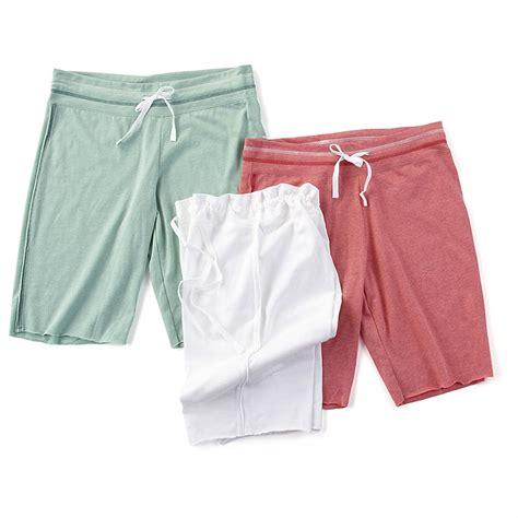 womens knit shorts 3 pk of s reebok 174 knit shorts 235732 shorts at