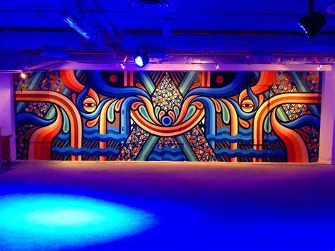 Paint Colors For Dining Rooms neon golden australian street art exhibit above second