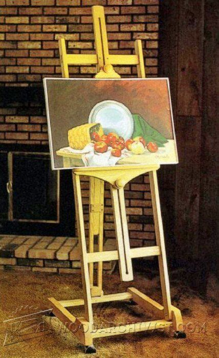 artist easel woodworking plans 28 best images about plans on rocking chairs