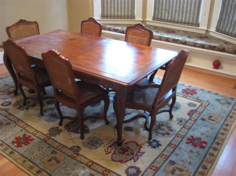 Area Rugs For A Dining Room Traditional Dining Room With Tibetan Area Rug