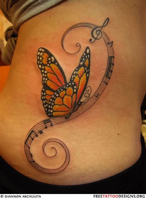 monarch butterfly tattoo design meaning pictures