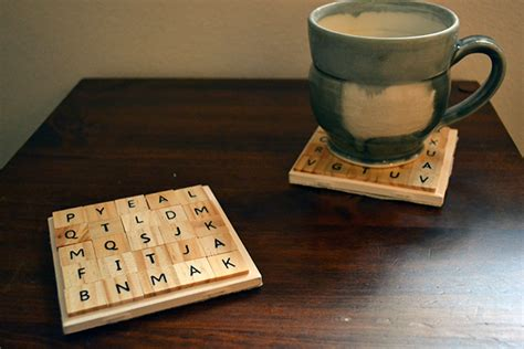 where can i buy scrabble tiles for crafts make a thing scrabble tile coasters autostraddle