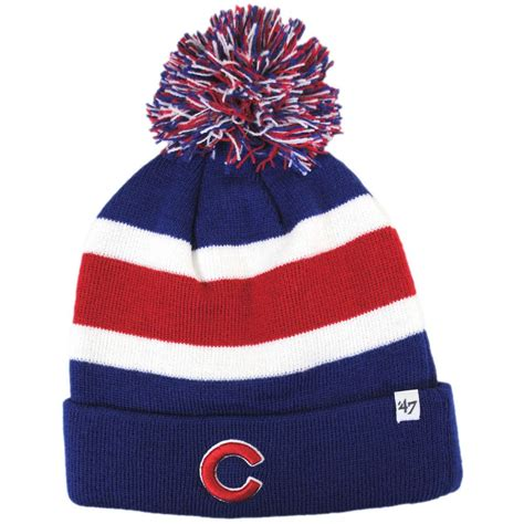 cubs knit hat 47 brand chicago cubs mlb breakway knit beanie hat beanies