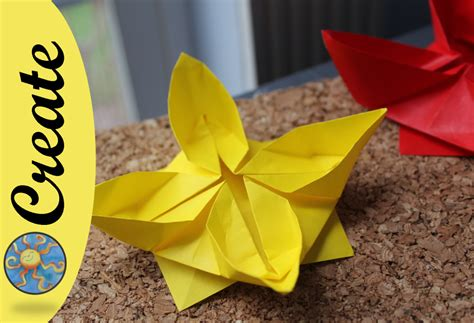 origami water flower how to make an origami flower water