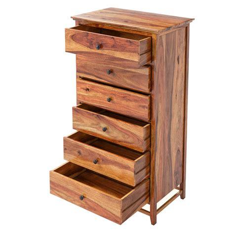 wood bedroom dresser mission modern solid wood 72 6 drawer bedroom dresser