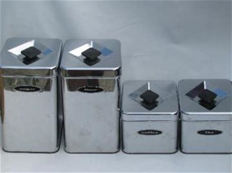 vintage kitchen canister sets retro kitchen canisters