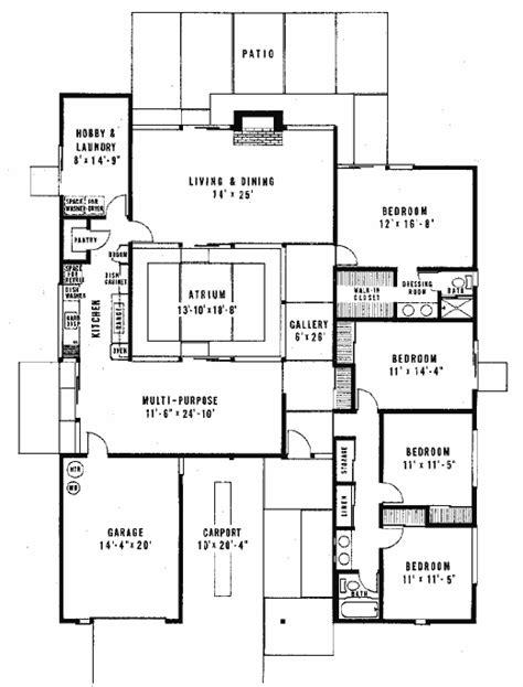 joseph eichler floor plans joseph eichler floor plans courtyard houses plans