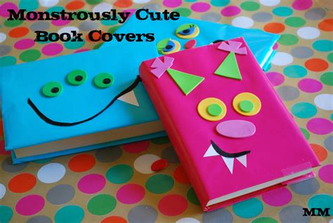 book craft for mirandamade monstrously book covers