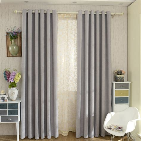 modern bedroom curtains modern chenille grey bedroom curtains blackout