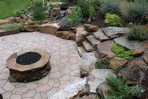 landscape pits rock pits landscape traditional with belgard bistro