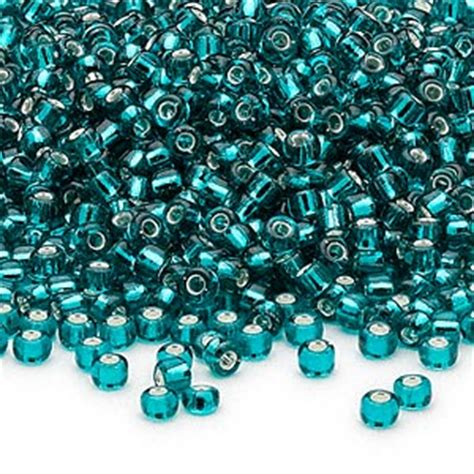 seed beading seed bead dyna mites glass silver lined translucent