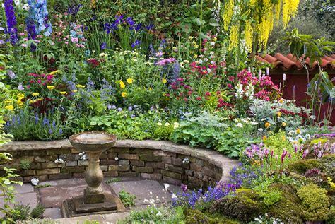 raised flower garden raised beds
