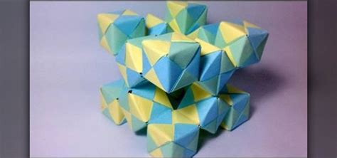 3d cube origami how to create a 3d origami moving cube with jo nakashima