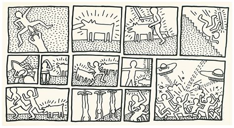 blueprint drawing keith haring the blueprint drawings deconstructed
