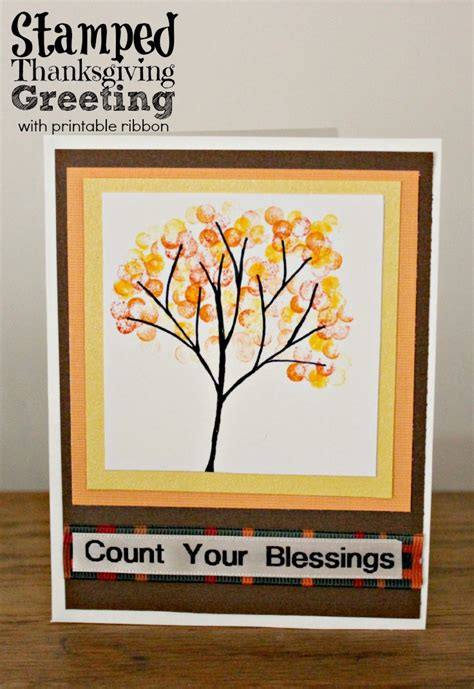 make thanksgiving cards easy thanksgiving cards to make sting ideas