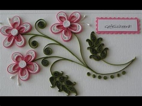 how to make paper quilling greeting cards 1000 ideas about quilling flowers tutorial on