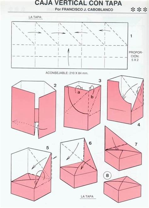 how to fold an origami box origami box