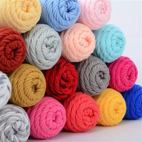 cotton yarn knitting 500g lot 5skeins soft cotton yarn for knitting scarf
