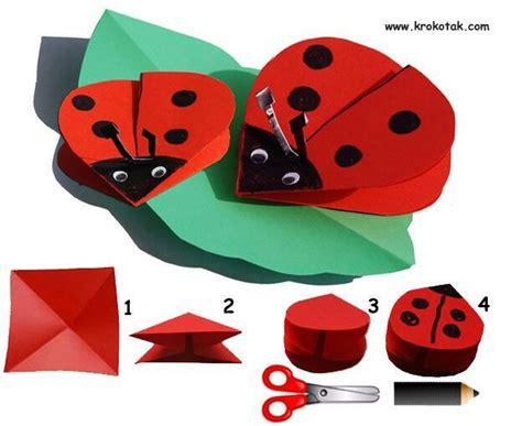 origami ladybug ladybird origami ladybugs