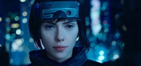 ghost in shell johansson ghost in the shell clip