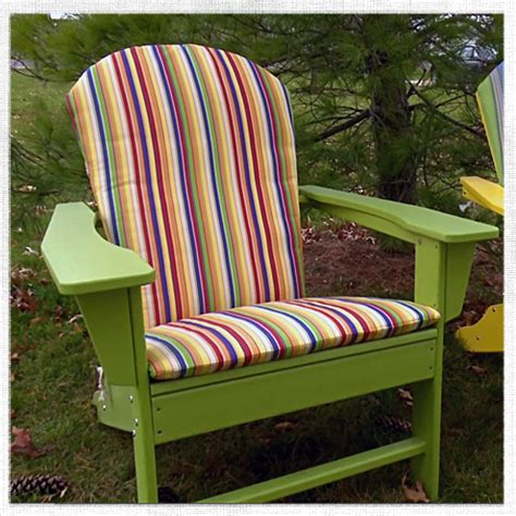 Cushions For Adirondack Chairs by How To Make An Adirondack Chair Cushion Do It Yourself