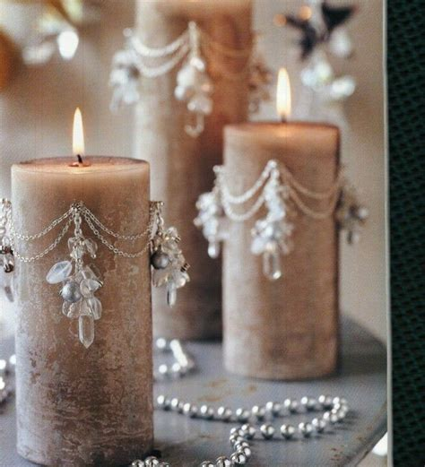 how to decorate candles beaded candles wire ideas easy beautiful