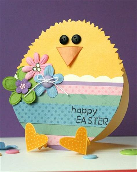 ideas for easter cards to make handmade easter card shaped like an egg paper