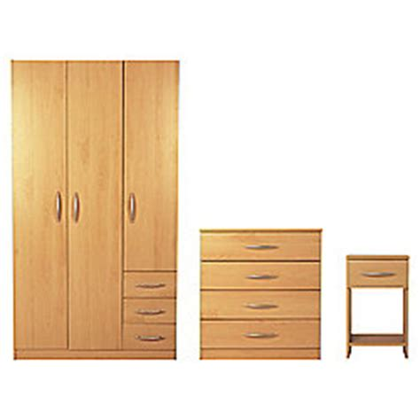 tesco bedroom furniture sets buy ashton wardrobe furniture set beech from our