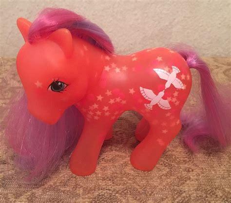 pony glow in the my pony brightglow g1 glow and show pony 1987